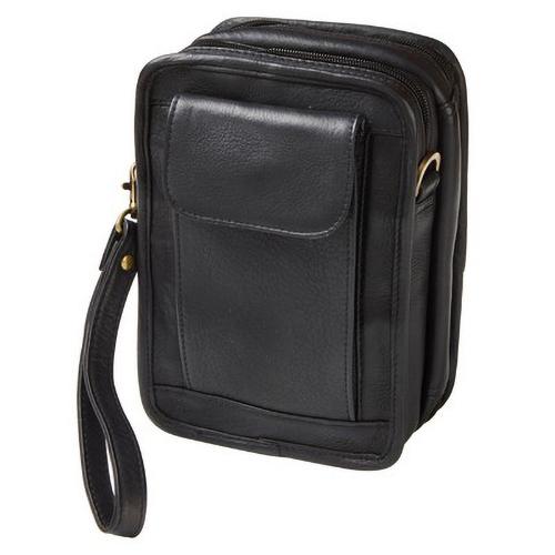 Custom Leather Organizer Travel Pouch