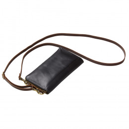Custom Leather Sonoma Smartphone Crossbody Wallet