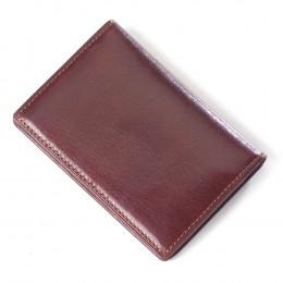 Leather Glazed Card Wallet (Optional Engraving)