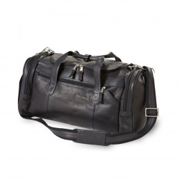 Custom Executive Leather Duffel Bag
