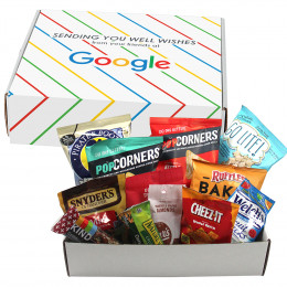 Custom Healthy Snacks Care Package Gift Box