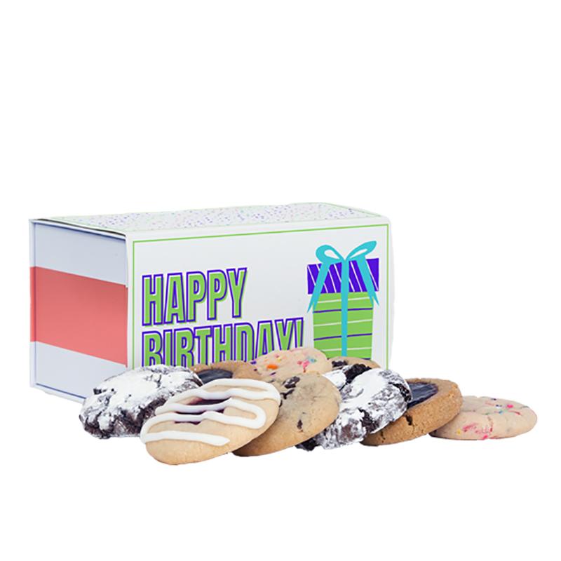 Happy Birthday Cookie Sampler Box
