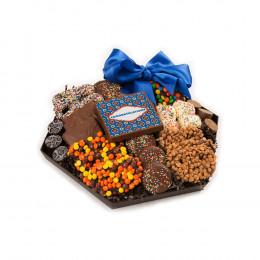 Chocolate Congratulations Hexagon Platter