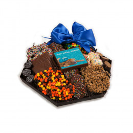 Chocolate Get Well Hexagon Platter