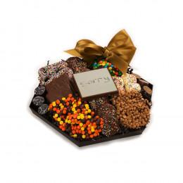 Chocolate I'm Sorry Hexagon Platter