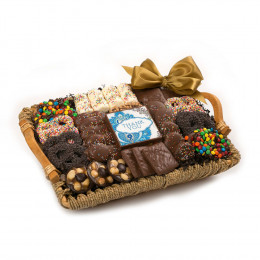 Chocolate Thank You Tray Basket
