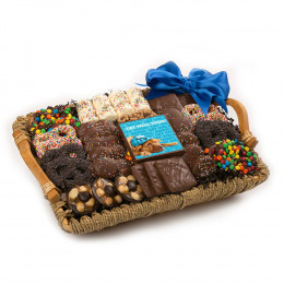 Chocolate Get Well Tray Basket