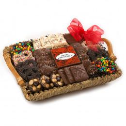 Chocolate Anniversary Tray Basket