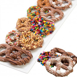 Ultimate Chocolate Covered Pretzel Twists - 12pc