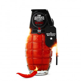 Custom Hot Sauce - Grenade Hot Sauce 6 oz Bottle