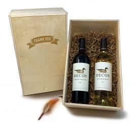Decoy Blanc and Cabernet Sauvignon 750ml Gift Set