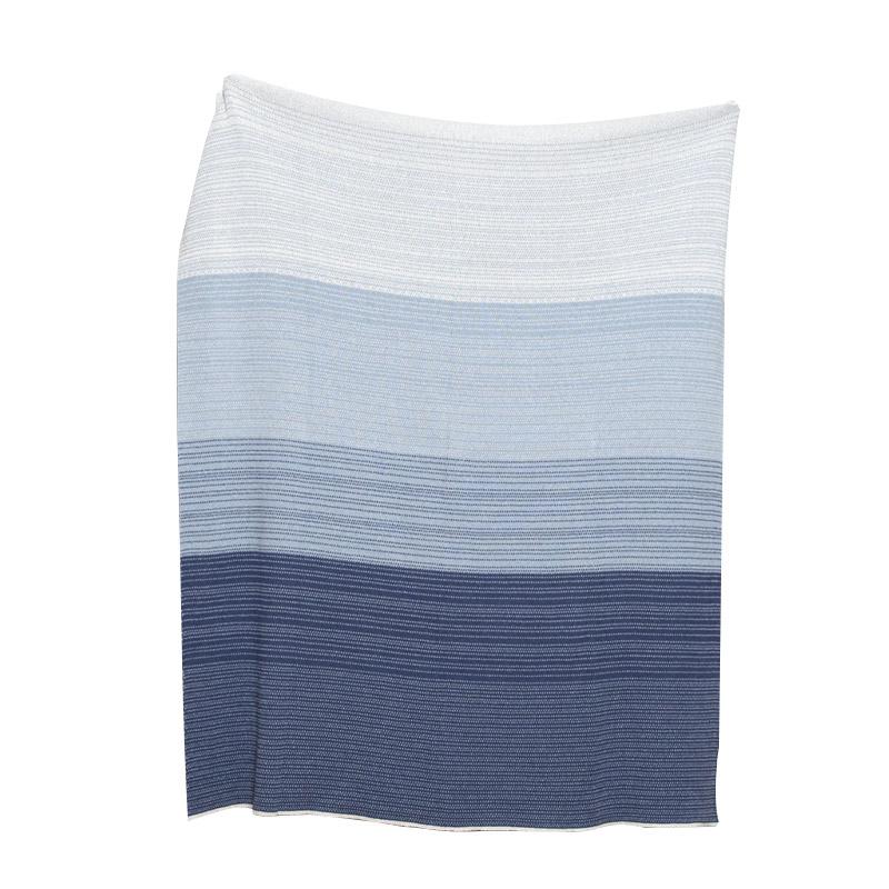 Digital Ombre Eco Throw Blanket