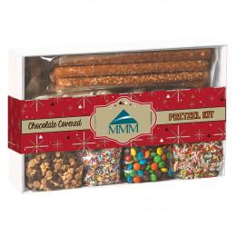 DIY Chocolate Covered Pretzels Gift Box Kit