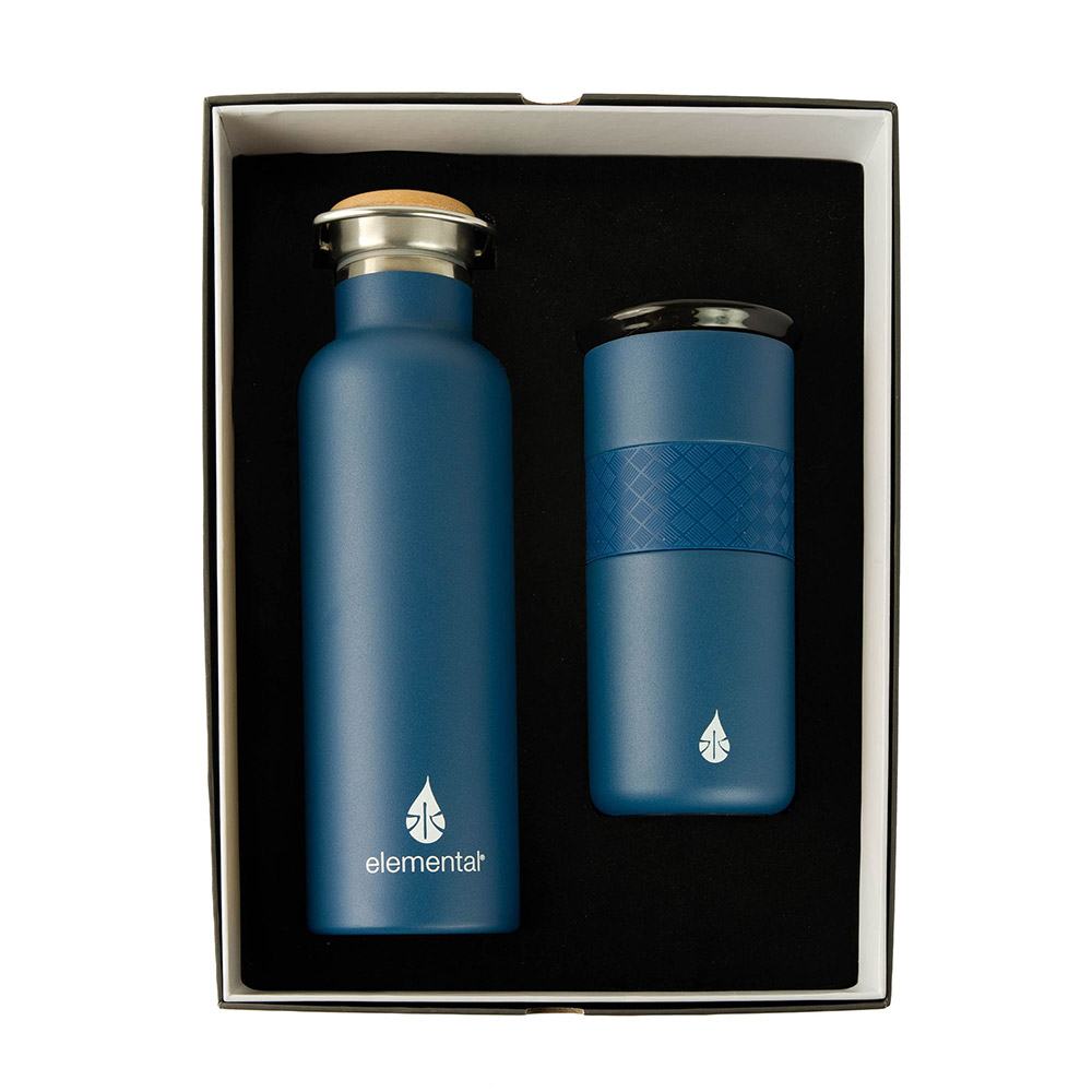 Elemental Water Bottle and Tumbler Gift Set