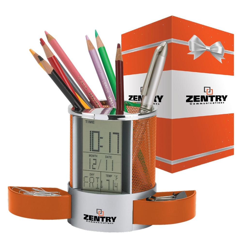 Custom Impressa Clock / Organizer & Packaging