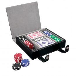 Custom Vallate Poker Set