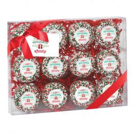 Custom Belgian Chocolate Oreo® Gift Box - 12 pc