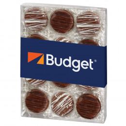 Elegant Chocolate Covered Oreos® Gift Box - 12 pc