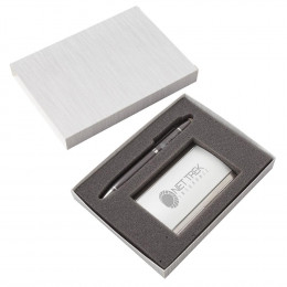 Custom Remo Pen and Business Card Case Set