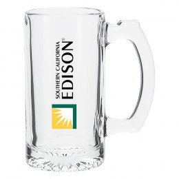 Custom Clear Mug Glass Medium