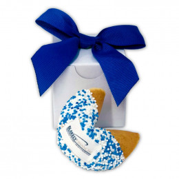 Custom Fortune Cookies Individually Wrapped in Gift Boxed with Theme Message
