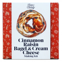 Cinnamon Raisin Bagel & Cream Cheese Kit