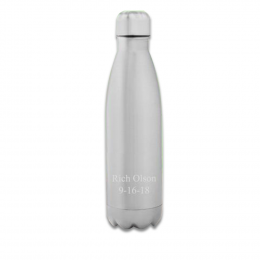 Personalized 17 oz. Stainless Steel Water Bottle