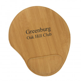 Personalized Bamboo Mouse Pad