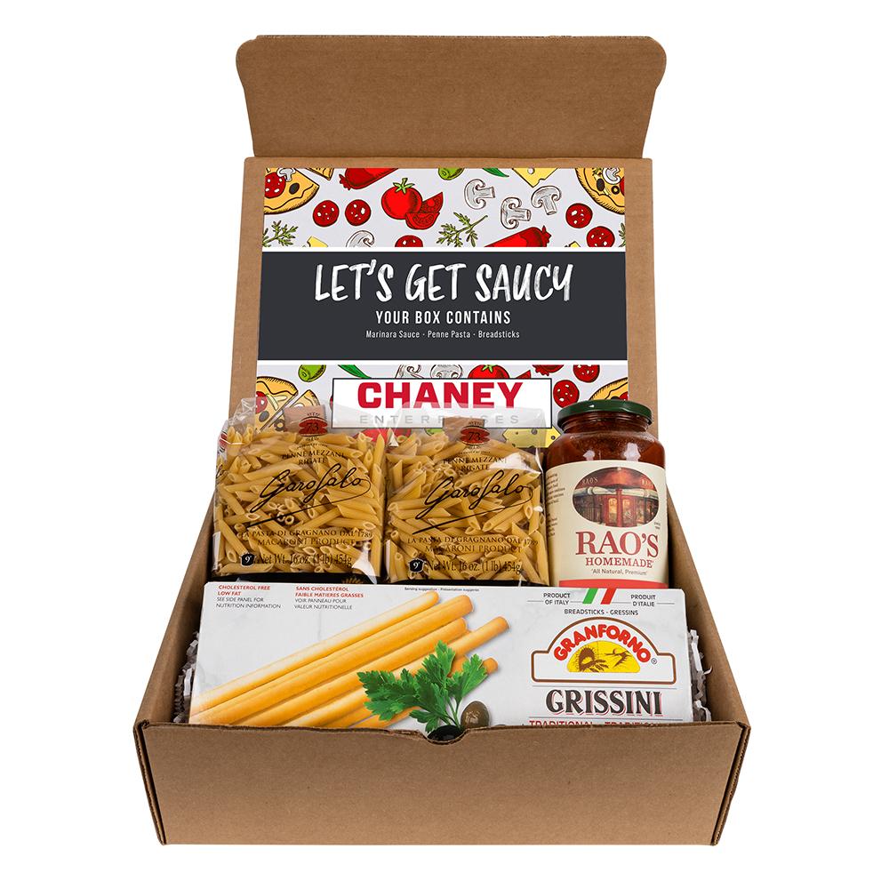 Custom Italian Gourmet Let's Get Saucy Mailer Kit