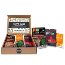 Custom Healthy Gourmet Happy Trails Snack Mailer Kit