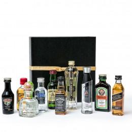 Share The Fun Assorted 50ml Mini Bar Bottle Gift Box. 10pc Set