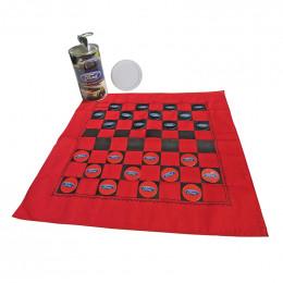 Custom Checkerchief Can - Checkers Game