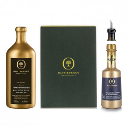 Oliviers and Co Gold Duo Olive Oil and Balsamic Vinegar