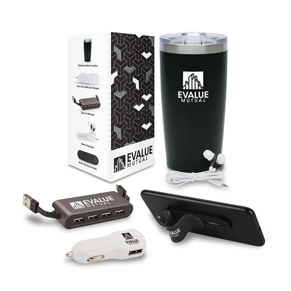Custom Analog 5-Piece Technology Gift Set