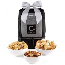 Custom Igloo® Rowan Nosh Gourmet Lunch Cooler