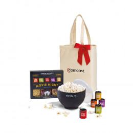 Custom Movie Night Gourmet Popcorn Gift Set