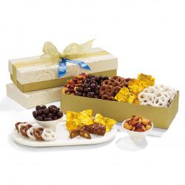 Golden Delights Gift Box of Treats