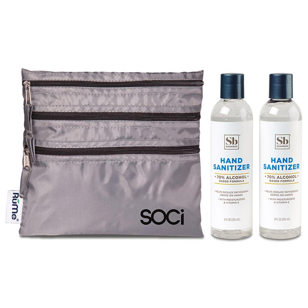 Custom Hand Sanitizer Duo Gift Set