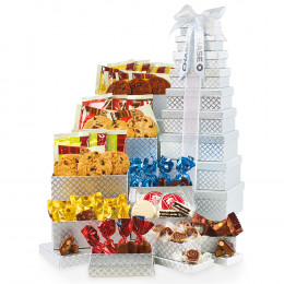 Custom Ultimate Gourmet Tower of Individually Wrapped Treats