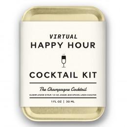Custom W&P Virtual Happy Hour Cocktail Kit - Champagne