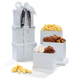 Sweet Sophistication Gourmet Snacks Treat Tower