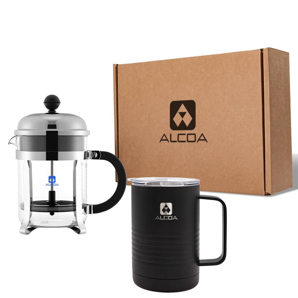 Custom Coffee Lover Gift Set