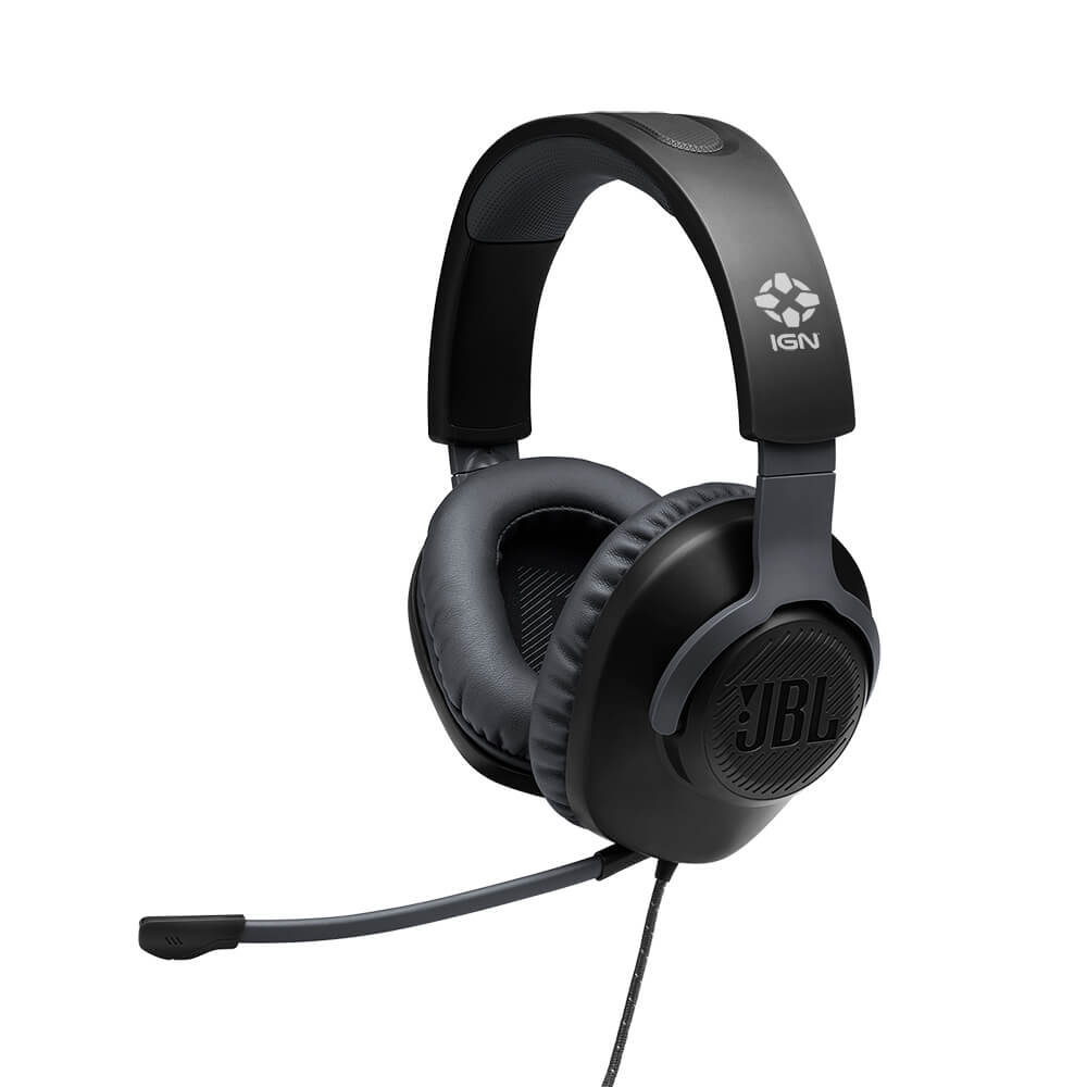 Custom JBL Quantum 100 Wired Over-Ear Gaming Headset With Detachable Mic