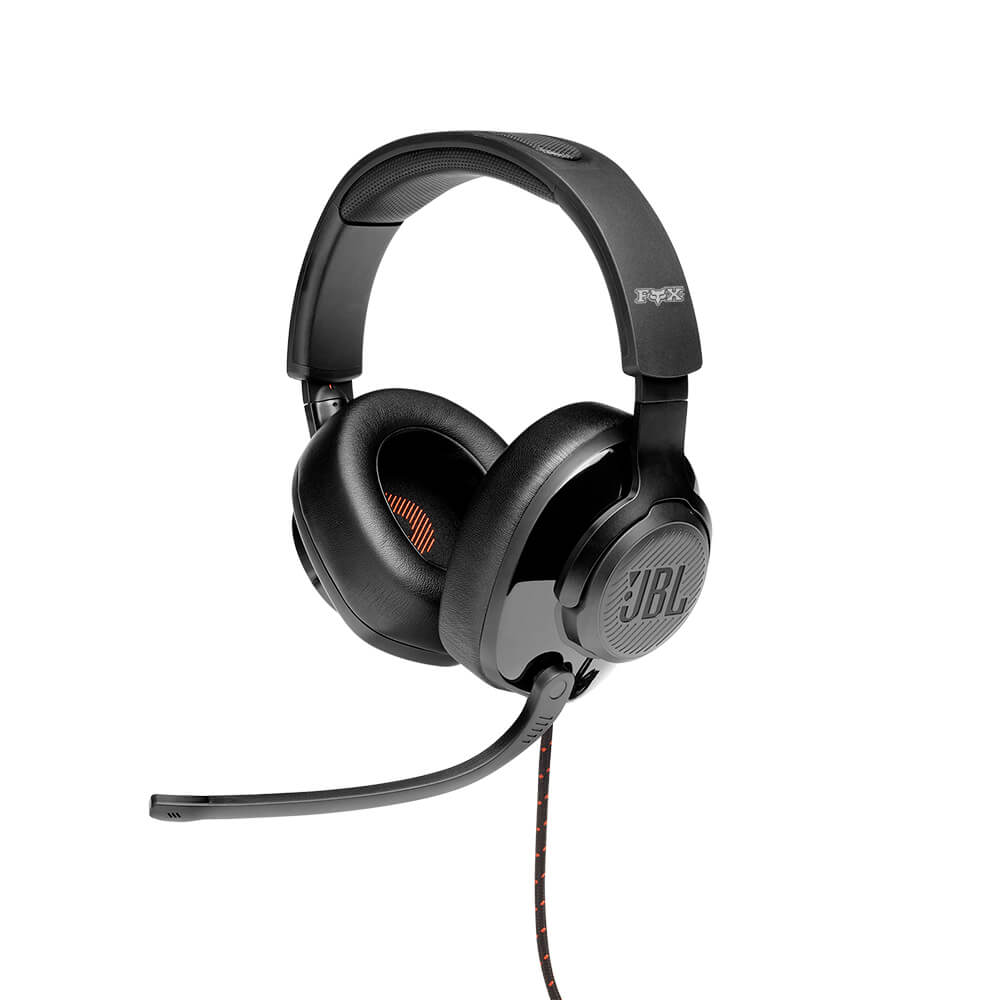 Custom JBL Quantum 200 Wired Over-Ear Gaming Headset With Flip-up Mic