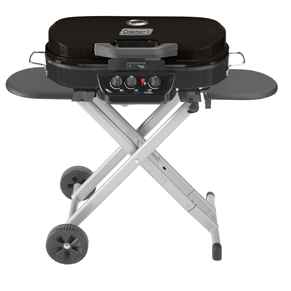 Custom Coleman RoadTrip 285 Portable Stand-Up Propane Grill
