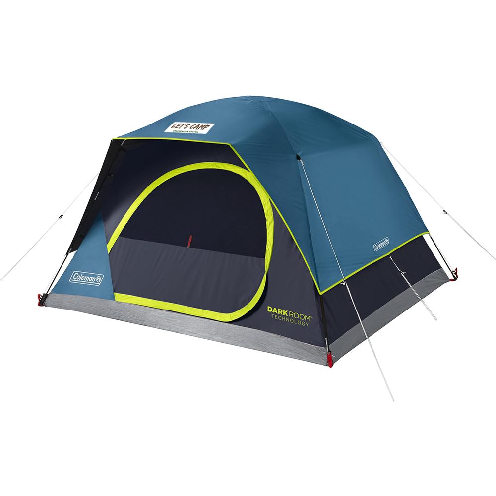 Custom Coleman 4-Person Dark Room™ Skydome™ Tent