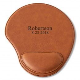 Personalized Leather Mouse Pad