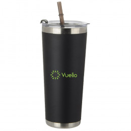 Custom 20 Oz Stainless Tumbler With Straw