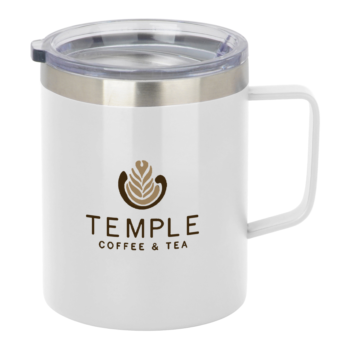 Custom 12 Oz. Vacuum Insulated Coffee Mug