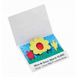 Custom Seed Paper Matchbook